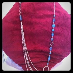 Jewelry - Turquoise Beaded Chain Necklace